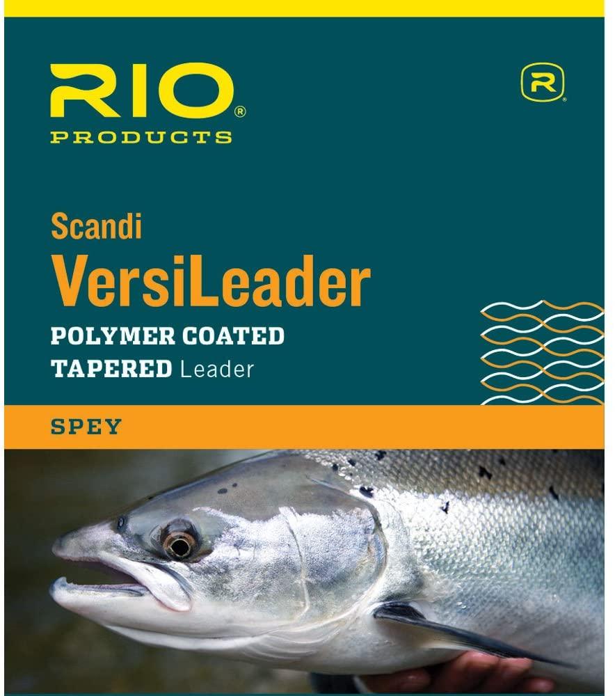 RIO Fly Fishing Light Scandia 10' 5Ips Fishing Tackle, Black-Blue-Loop