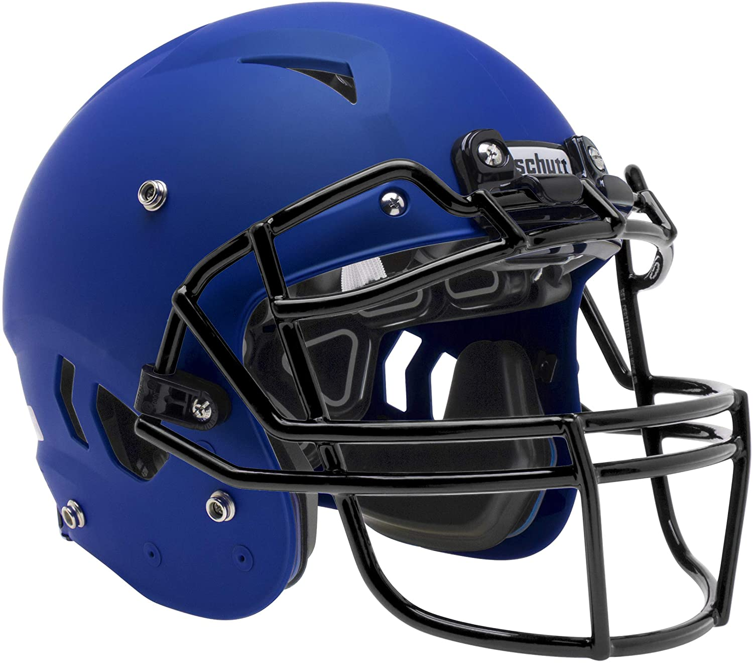 Schutt Sports Vengeance A11 Youth Football Helmet (Facemask NOT Included), Royal Blue, X-Large