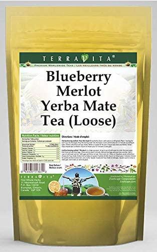 Blueberry Merlot Yerba Mate Tea (Loose) (4 oz, ZIN: 566620) - 3 Pack