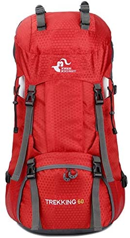 PUEEPDEE Cycling Backpack Biking Backpack Water-Resistant Hiking Daypack Backpacks Internal Frame 60L Backpack Padded Back Support & Cushioned Adjustable Straps Men Women Hydration Bag