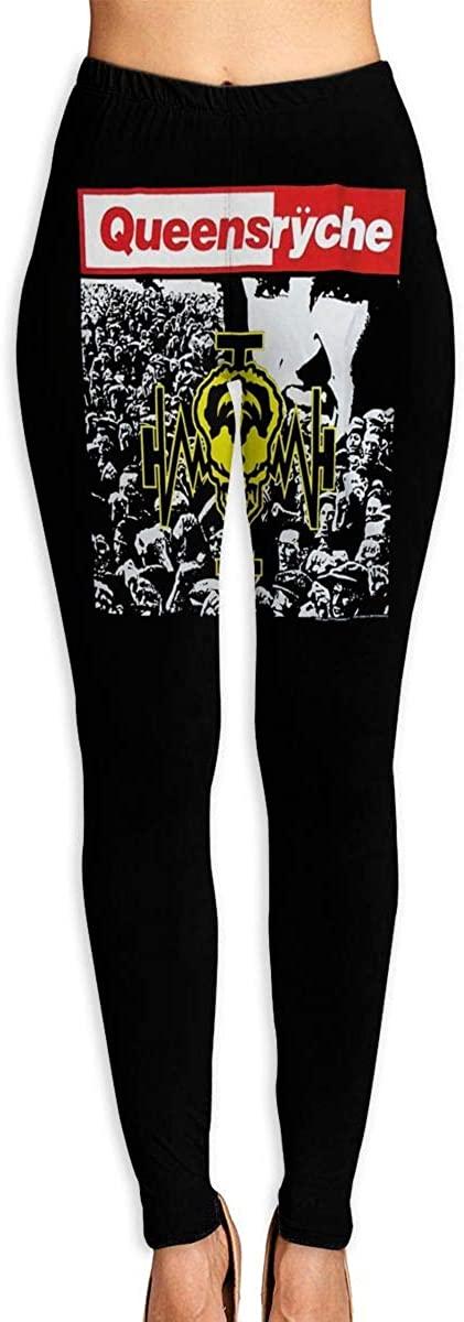 1743 Women's Yoga Pants Queensryche Operation Mindcrime High Waist Workout Leggings Running Pants