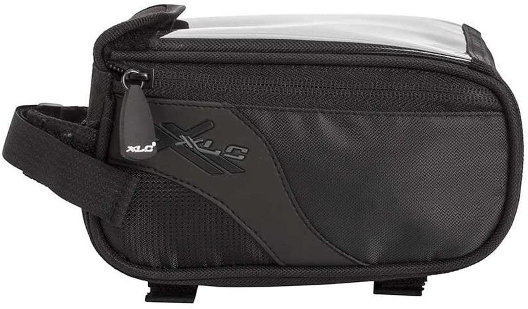 Xlc Dlx Toptube Bag Lg Bk Xlc Dlx Lg Top Tube Bag Bk/Gy