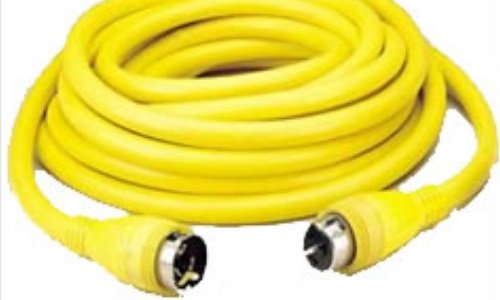 Hubbell SCB50 Input/Output Cable Set, 50 Amp, 50 Length