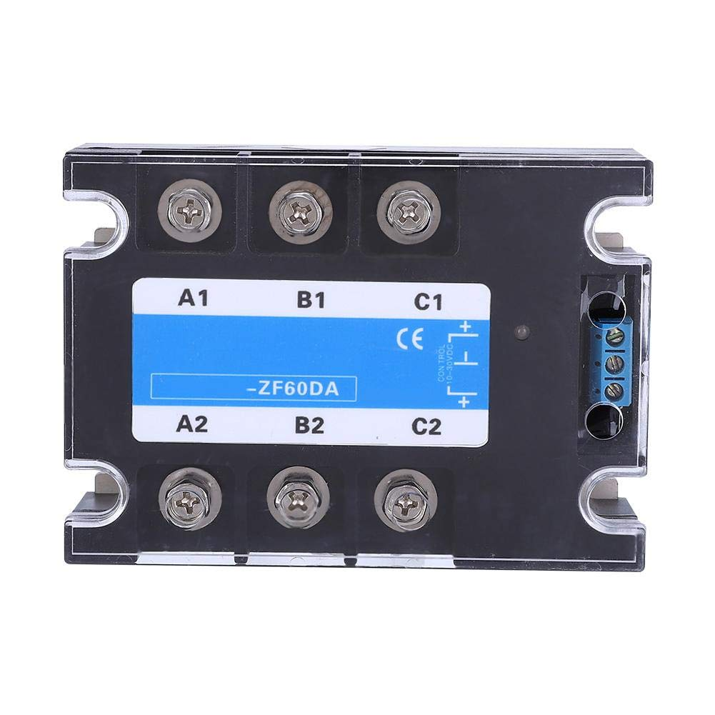 DC-AC Three-Phase Solid State Relay 3-32v DC / 380v AC / 25A