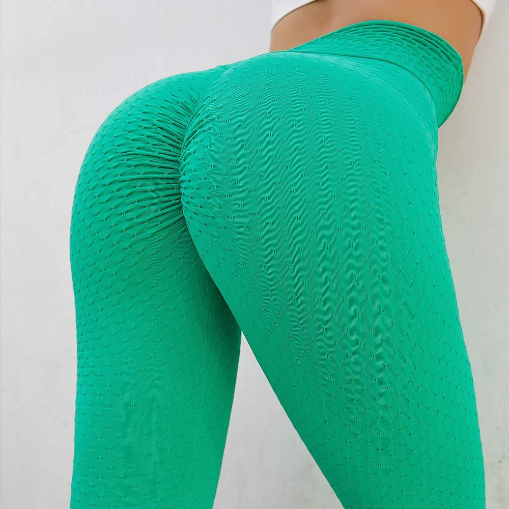 N/Y Womens Peach Buttock Fitness Yoga Black Pants high Waist Buttock Exercise Tight Pants Seamless Buttock Fitness Pants