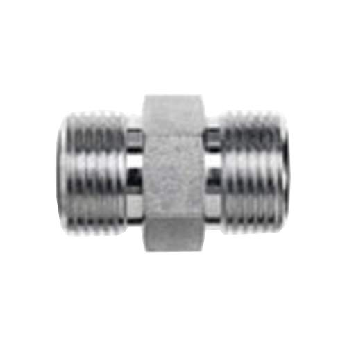 Brennan Industries FS2403-12-08 Steel Straight O-Ring Face Seal Fitting, 1-3/16