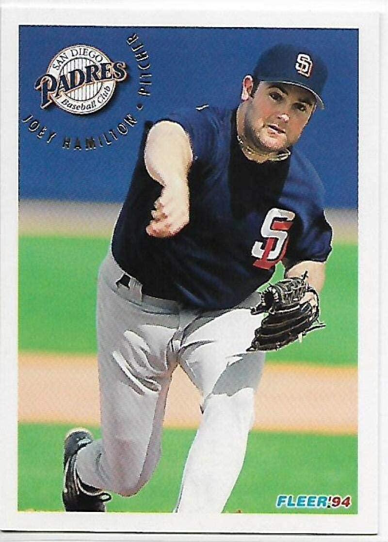 1994 Fleer Update #185 Joey Hamilton NM-MT Padres
