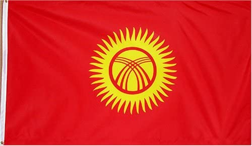 Kyrgyzstan Flag 3x5 foot Poly nylon new AVID FLAG brand