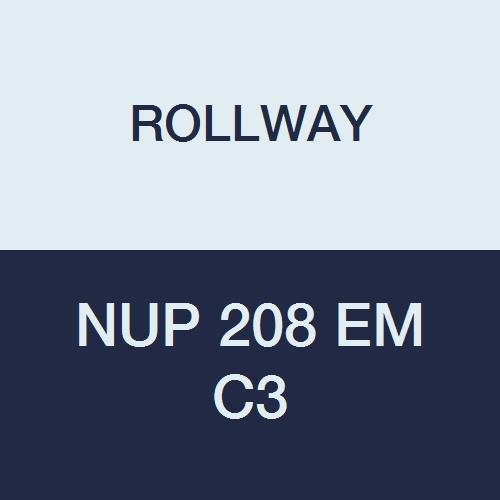 Rollway Nup 208 EM C3 Cylindrical Radial Roller Bearing, 1.5748
