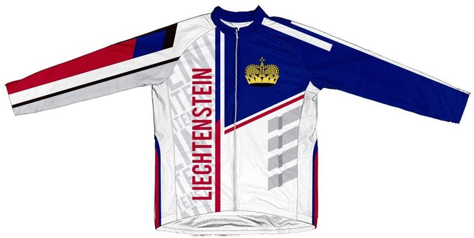 ScudoPro Liechtenstein Winter Thermal Cycling Jersey for Men