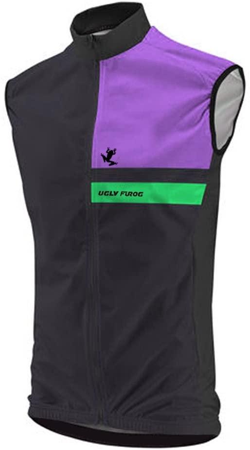 Uglyfrog 2015 New Coming Men's Winter Thermal Fleece Sleeveless Cycling Jersey Triathlon Vest
