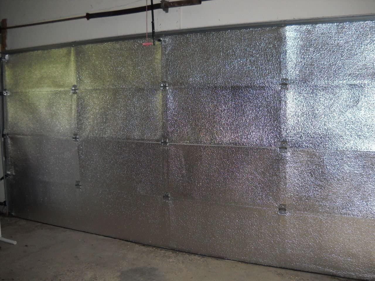 Supershield Reflective Platinum Double Car Garage Door Insulation Foam Core Kit