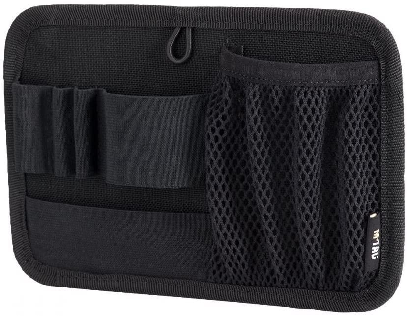 M-Tac Tactical Bag Insert Modular Organizer Utility Admin Pouch Hook Fasteners - Key Holder