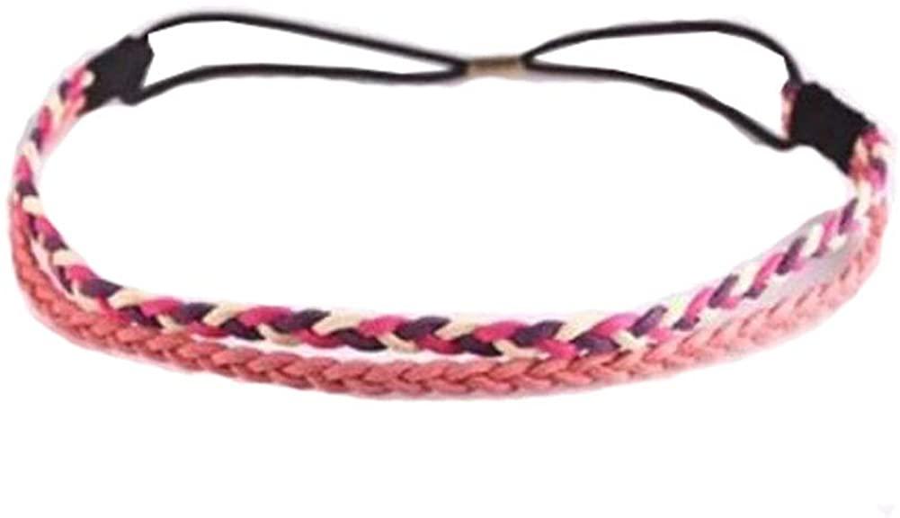 George Jimmy Outdoor/Indoor Non-Slip Sport Headband Yoga Black Head Band Hair Accessory-A4