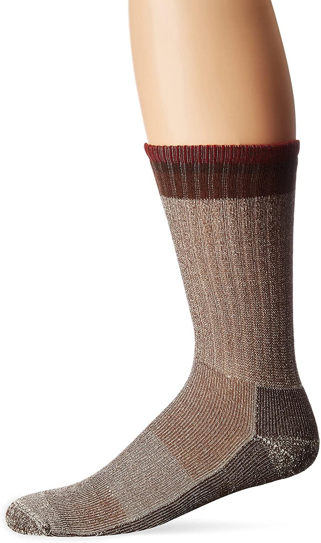 Sockwell Men's Tipped Off Classic Alpaca Hiker Crew Socks