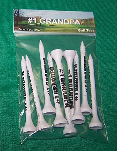 #1 Grandpa package of 10 biodegradable ECO tees
