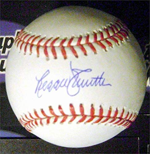 Reggie Smith autographed baseball (OMLB Red Sox Dodgers Cardinals) - NFL Autographed Miscellaneous Items
