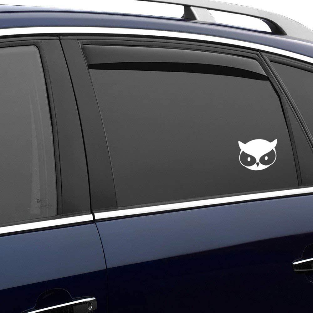 N/ A Owl Cute Woodland Animal Vinyl Sticker Graphic Bumper Tumbler Decal for Vehicles Car Truck Windows Laptop MacBook Phone Wall Door