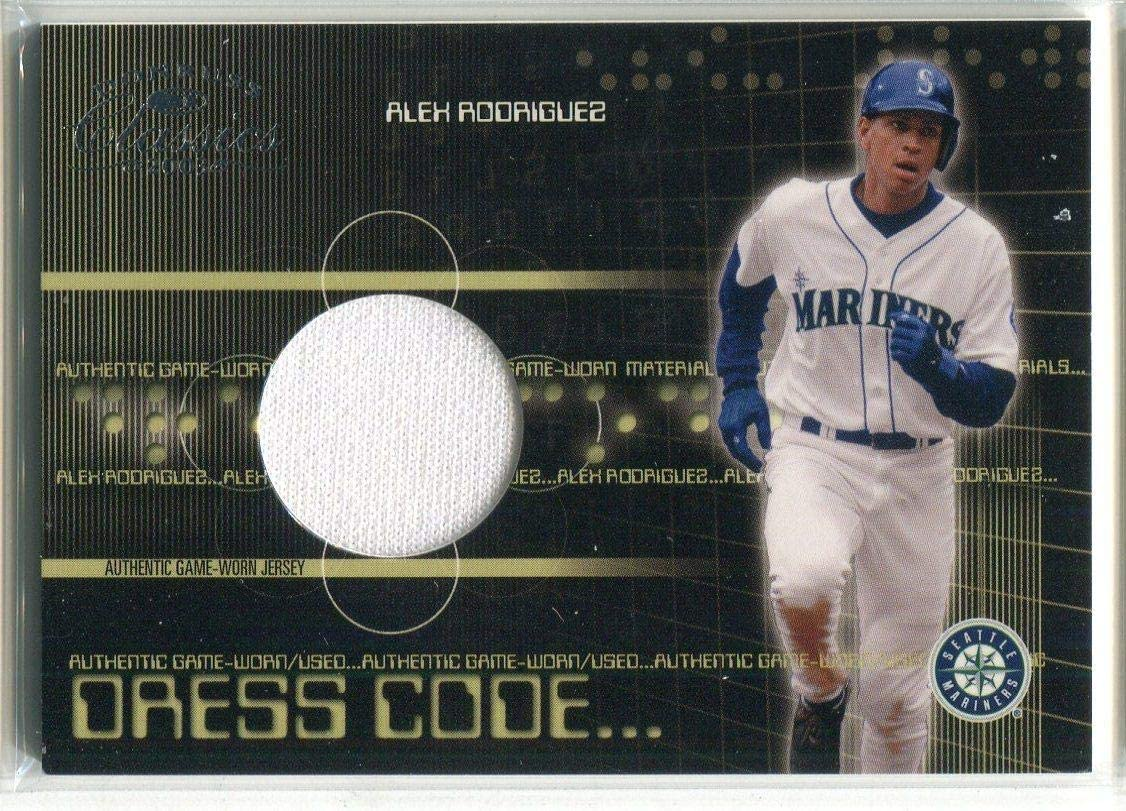 Alex Rodriguez 2003 Donruss Classics Game Used Relic Card 448/500 - Baseball Game Used Cards