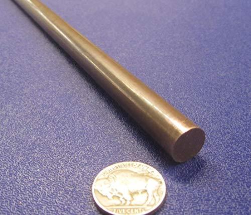 655 Bronze Round Rod.500 Diameter x 6 Ft. Length, 1 Pc.
