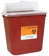 Medline Lock-Up Sharps Container - 2 Gallon