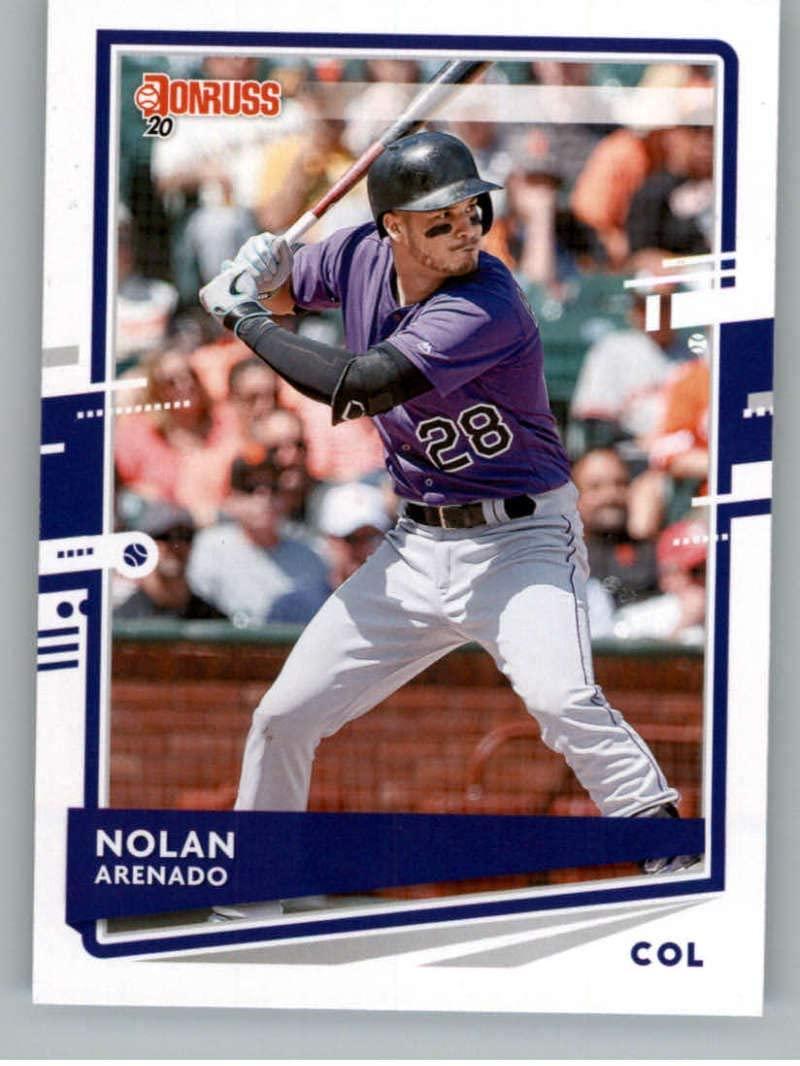 2020 Donruss #147 Nolan Arenado Colorado Rockies Baseball MLB