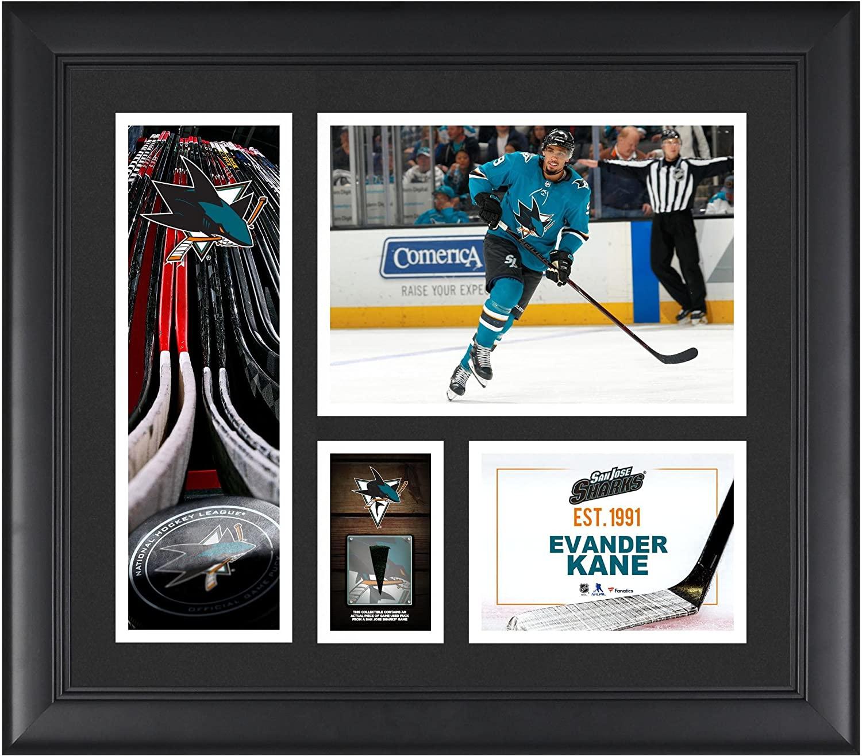 Evander Kane San Jose Sharks Framed 15