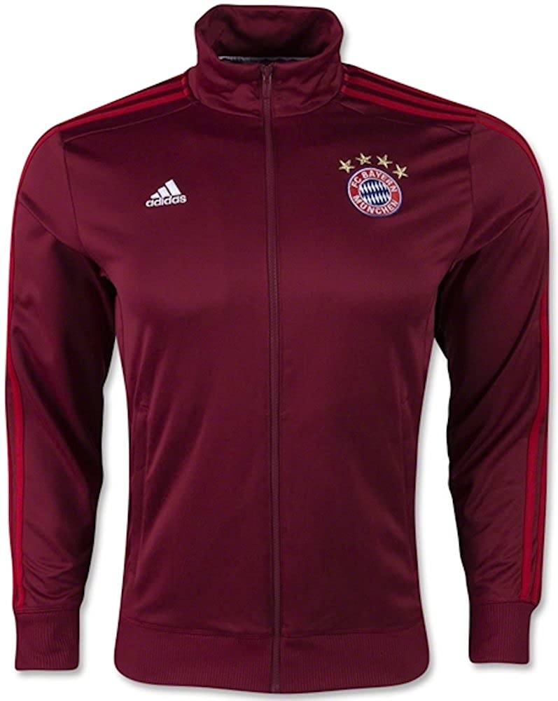 Adidas FC Bayern Munich 3S Track Top (X-Large) Craft Red/FCB True Red