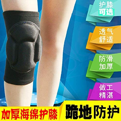 fleeting time Sports Dance Knee Pads Summer Volleyball Football Dance Thick Sponge Anti-Collision Skating Protective Gear Boys and Girls