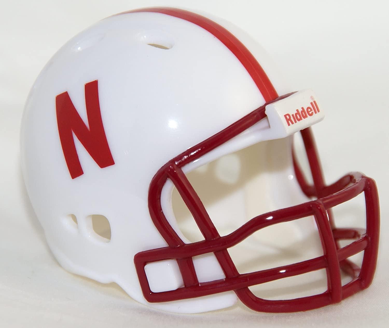 NEBRASKA CORNHUSKERS Riddell Revolution POCKET PRO Mini Football Helmet