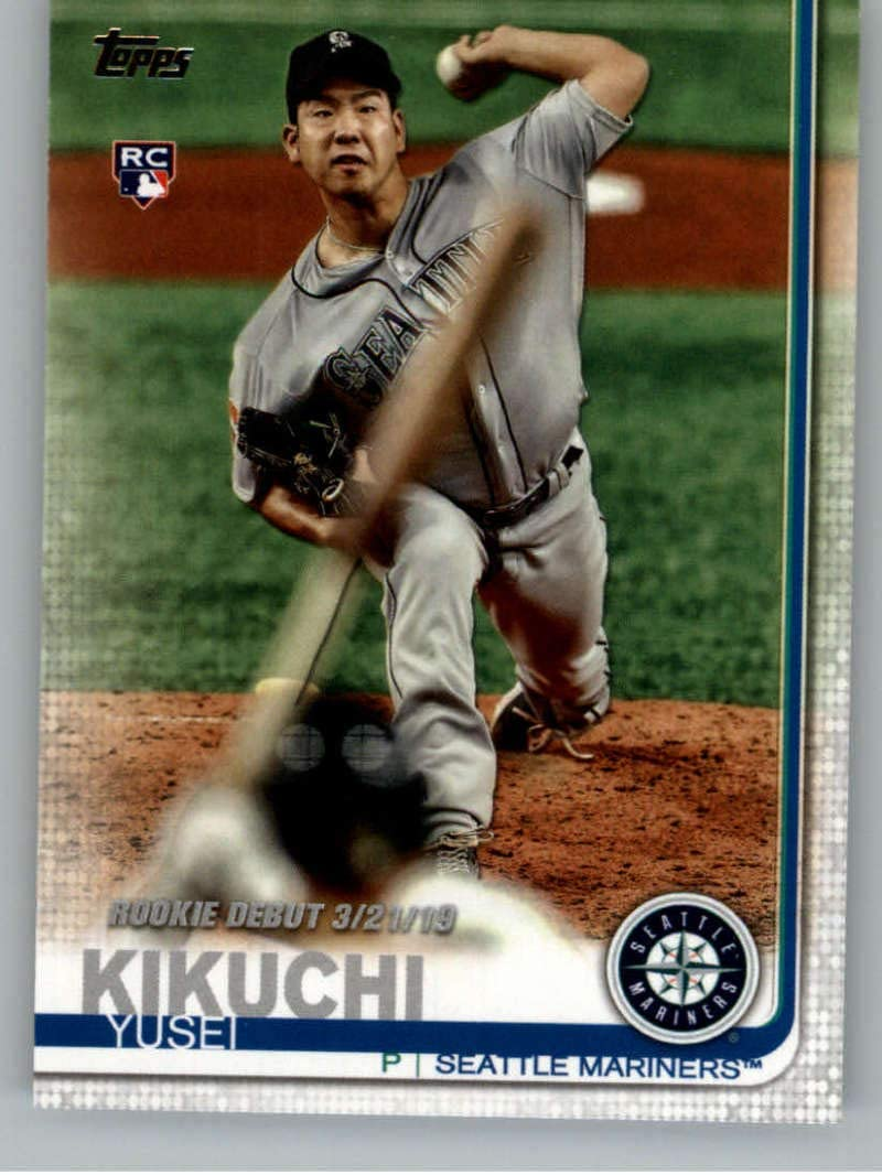 2019 Topps Update (Series 3) #US278 Yusei Kikuchi Seattle Mariners RC Rookie Official Baseball Trading Card
