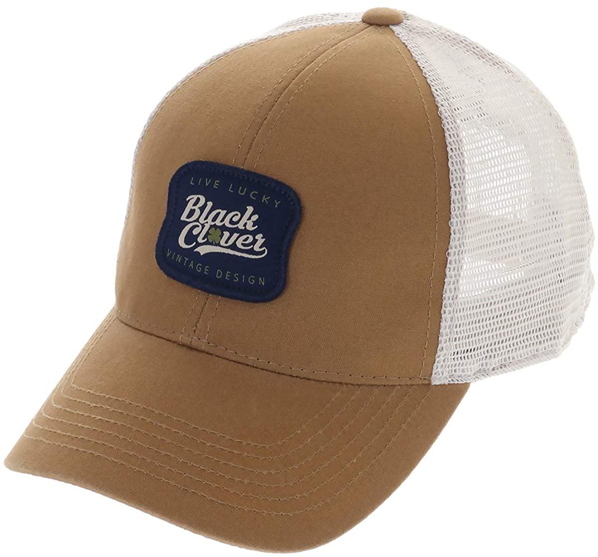 Black Clover Vintage Patch Adjustable Cap