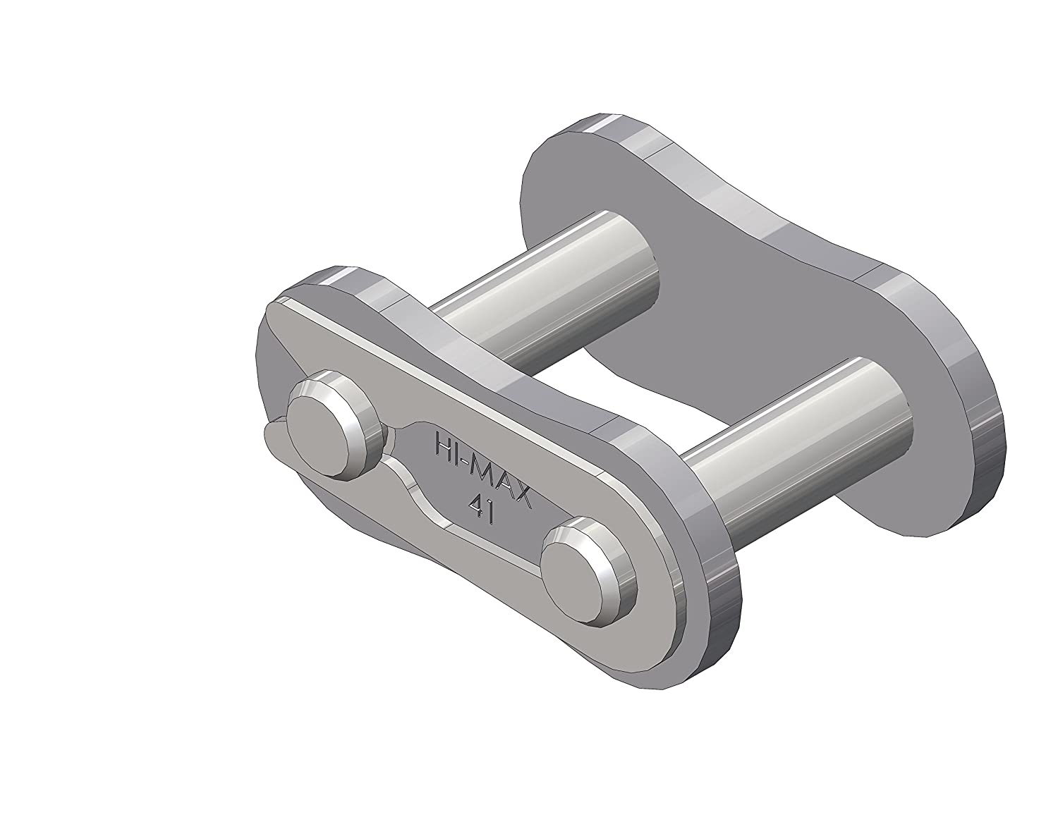 Senqcia Hi-Max 41HMCL Connecting Link, Spring Clip Type, ASME/ANSI Standard Roller Chain, Single Strand, 0.88