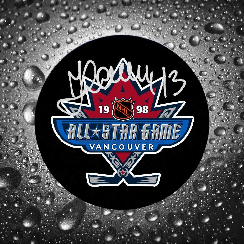 Valeri Kamensky Signed Puck - 1998 NHL All Star - Autographed NHL Pucks