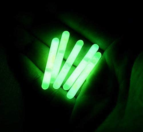 Blackett Mini Compact Emergency Glow Light Sticks, 1.5 inch, 100 Pack