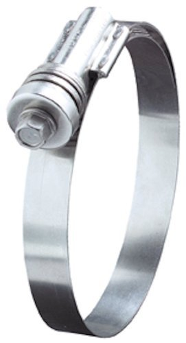 Ideal Tridon 4535051 Stainless Steel Flex-Gear 45 Series 300 Constant Tension Worm Gear Hose Clamp, 362 SAE Size, Fits 2-3/4-3-5/8