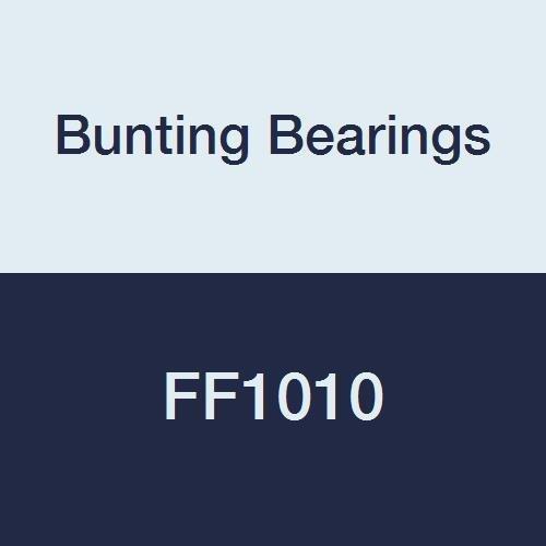Bunting Bearings FF1010 Flanged Bearings, Powdered Metal, SAE 841, 3/4