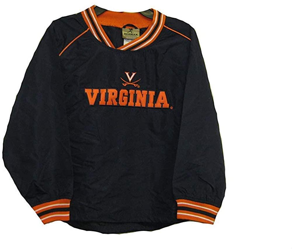 Reebok Virginia Cavaliers Navy NCAA Youth Pullover Lightweight Jacket (Large 14-16)
