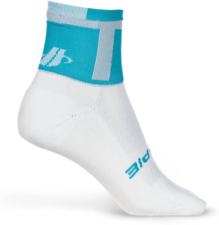 Hincapie Womens Power High Cut 3-in Cycling Sock -R042W13 (Ocean - Small)