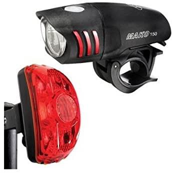 NiteRider Mako 150 LED Headlight and CherryBomb 0.5 Watt Tail Light