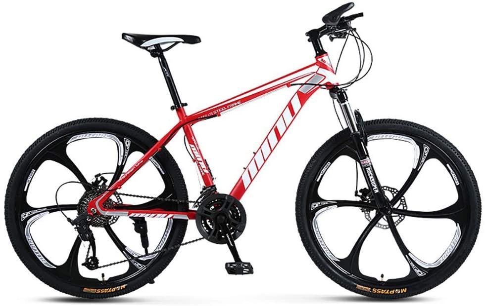 TOPYL Full Suspension Mountain Bikes Man,26 Inch Racing Adult Mountain Bike,Racing Bike Bicycles for Women,Mountain Bicycle Forks