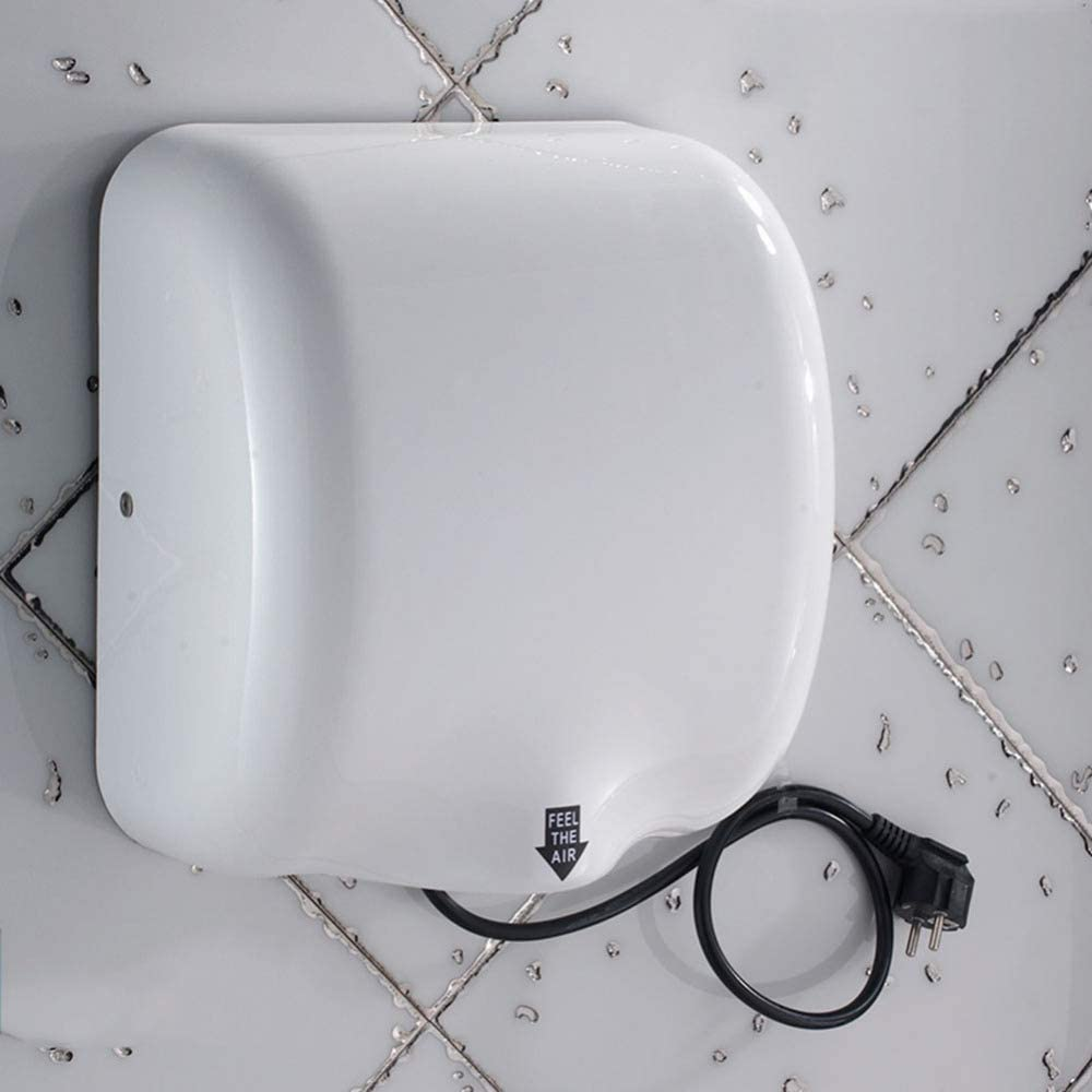 XYYZX Hand Dryer Commercial Hands Drying Device Stainless Steel for Home Bathroom High Velocity Low Energy Eco Friendly Electric Dryer Hand Dryer for Toilets Infant School Bars Offi