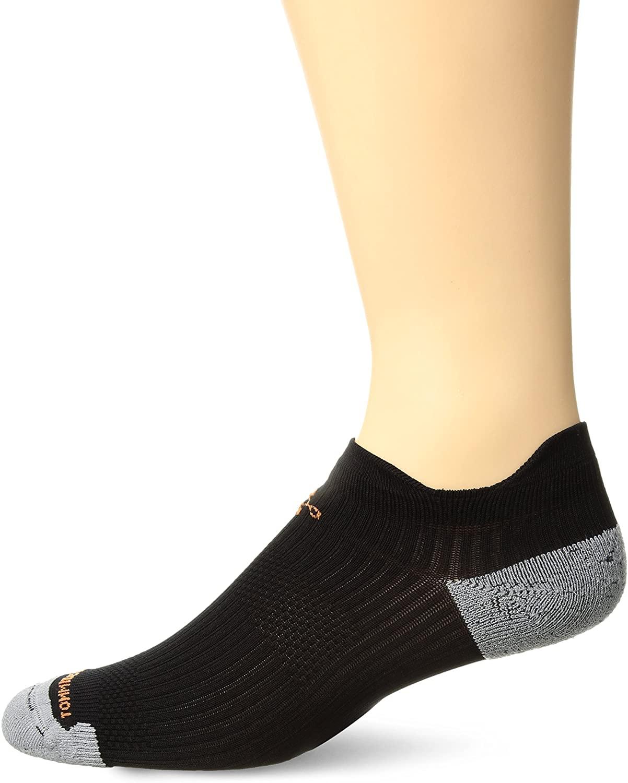 Tommie Copper mens Men's athletic lightweight compression ankle sock