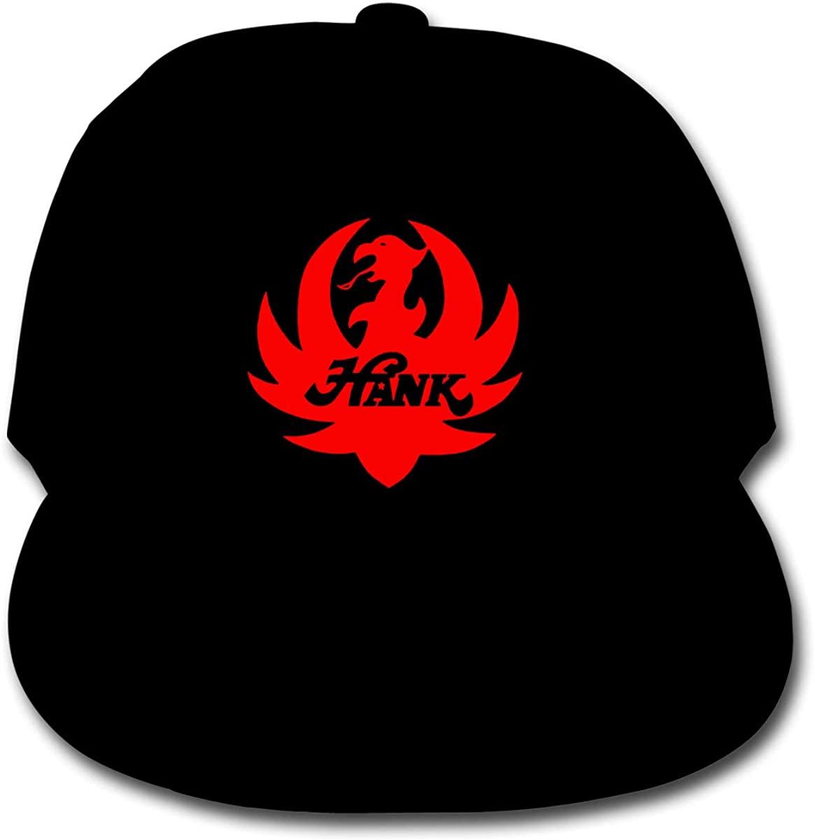 Kids Boys Girls Hank Williams Jr Logo Merch Adjustable Baseball Snapback Hat Cap Sun Outdoor Trucker Hats for Children