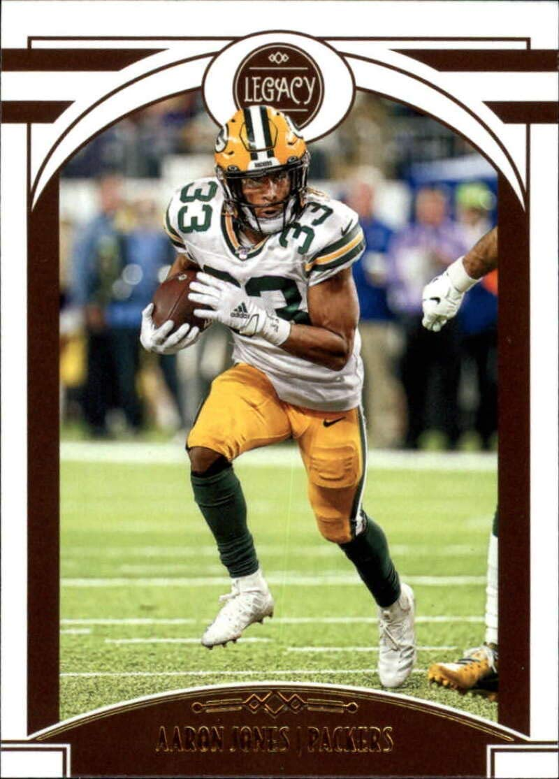 2020 Legacy Football #65 Aaron Jones Green Bay Packers Official NFL Trading Card by Panini America