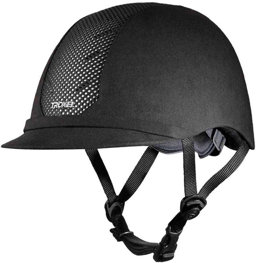 Troxel ES Horse Riding Western Helmet Low Profile Adjustable