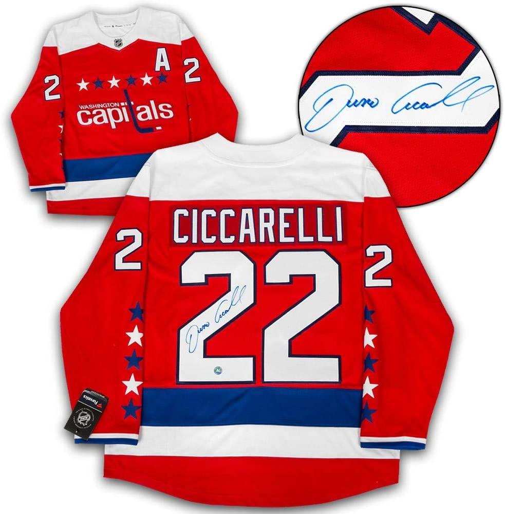 Dino Ciccarelli Autographed Jersey - Retro Alt Fanatics - Autographed NHL Jerseys
