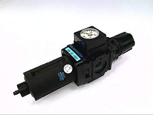 WILKERSON FILTERS B08-02-FKG0 Filter Regulator, W/Bowl Guard, Manual Drain Type, 1/4 INCH NPT, Plastic Bowl