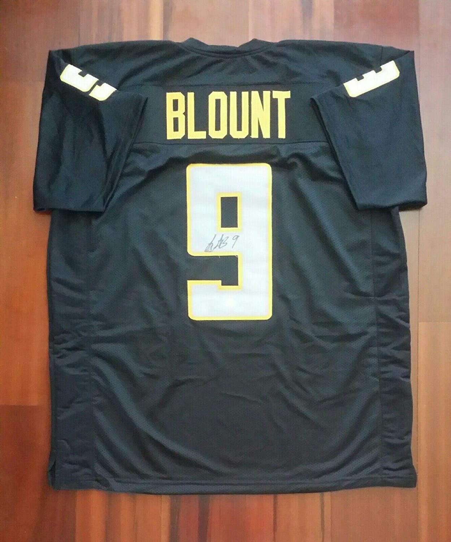 LeGarrette Blount Autographed Jersey - JSA Certified - Autographed College Jerseys