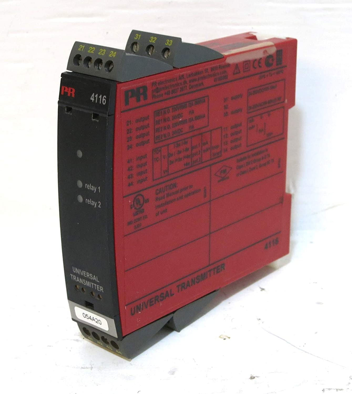 PR electronics 4116, Universal Transmitter, 2 Relays